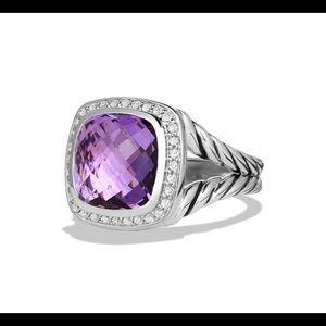 David Yurman Sterling Silver Albion Ring. Size 7